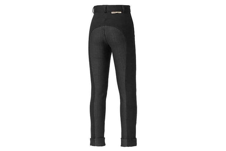 Harry Hall Childrens/Kids Chester Sticky Bum Breeches (Black) (28 inches)