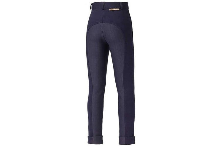 Harry Hall Childrens/Kids Chester Sticky Bum Breeches (Navy Blue) (24 inches)