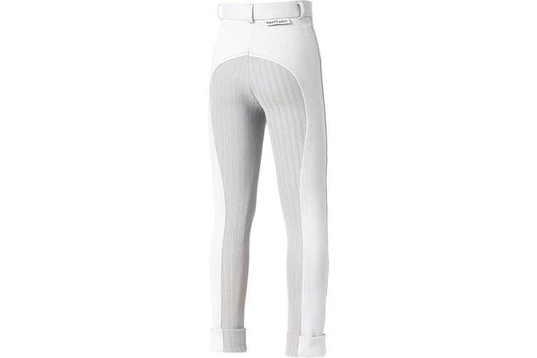 Harry Hall Childrens/Kids Chester Sticky Bum Breeches (White) (20 inches)