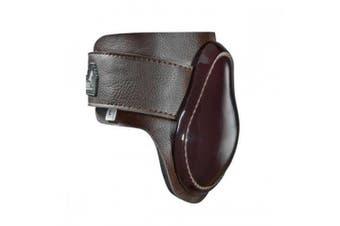 Masta Leather Look Neoprene Fetlock Boots (Brown) - UTTL418