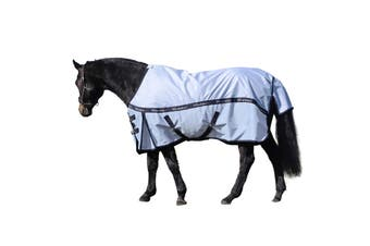 """Whitaker Pudsey Horse Turnout Rug (Blue) (6´ 6"""")"""