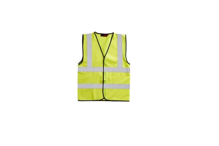 Blackrock Adults Hi-Vis Sleeveless Waistcoat (Yellow) (XXLarge)