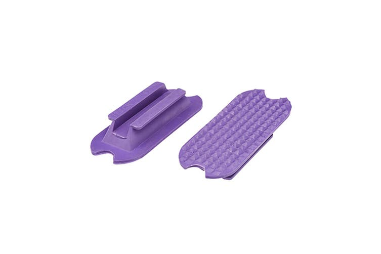 Cottage Craft Fillis Stirrup Treads (Purple) (4in (100mm))