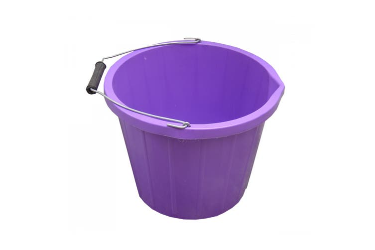 ProStable Water Bucket (Purple) (3 Gallons)