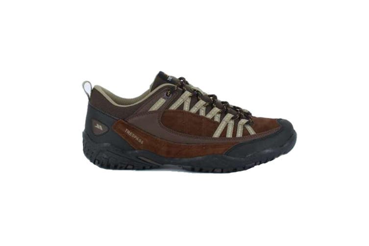 Trespass Mens Taiga Walking Trainers (Heath) (9 UK)