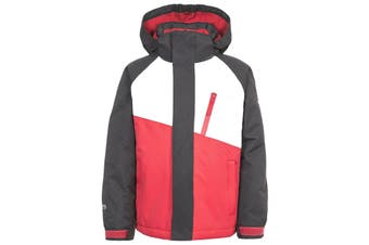 Trespass Childrens/Kids Crawley Ski/Snow Set (Black/Red) (9/10 Years)