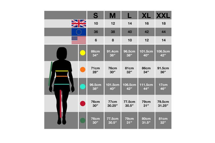 Trespass Womens/Ladies Marathon Hooded Full Zip Fleece Jacket (Black) (XXS)