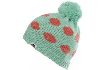 Trespass Womens/Ladies Nelalm Knitted Pom Pom Beanie Hat (Mint) (One Size)
