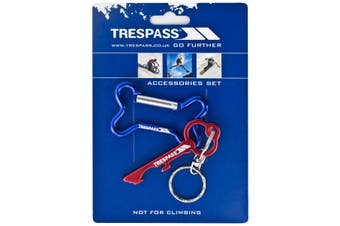 Trespass Keybone Keyring Set (Assorted) (One Size)