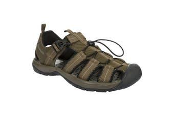 Trespass Mens Cornice Protective Hiking Sandal (Khaki) - UTTP2988