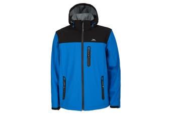 Trespass Mens Hebron Waterproof Softshell Jacket (Bright Blue) (M)