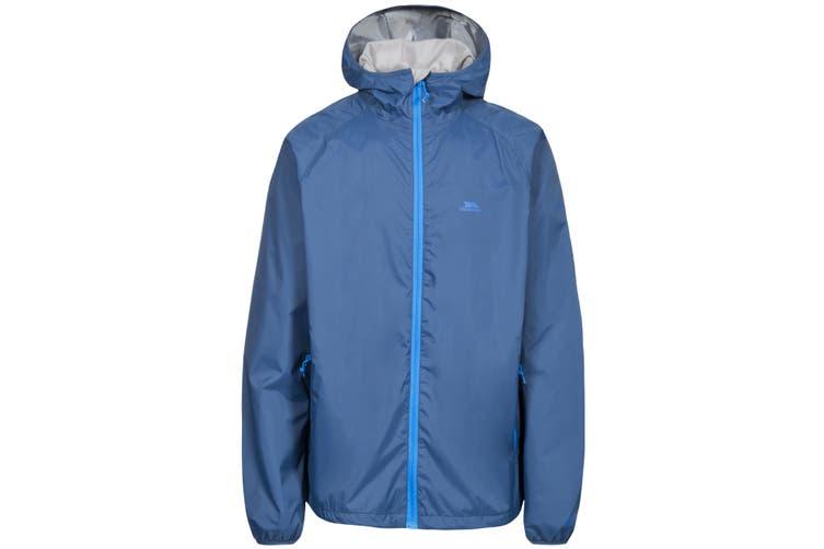 Trespass Mens Rocco II Waterproof Jacket (Midnight) (XXL)