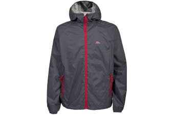 Trespass Mens Rocco II Waterproof Jacket (Flint) (M)