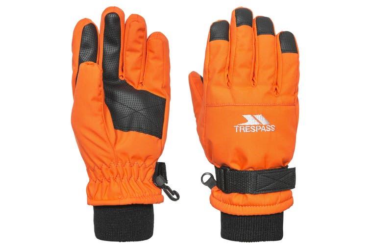 Trespass Childrens/Kids Ruri II Winter Ski Gloves (Hot Orange) (5-7 Years)