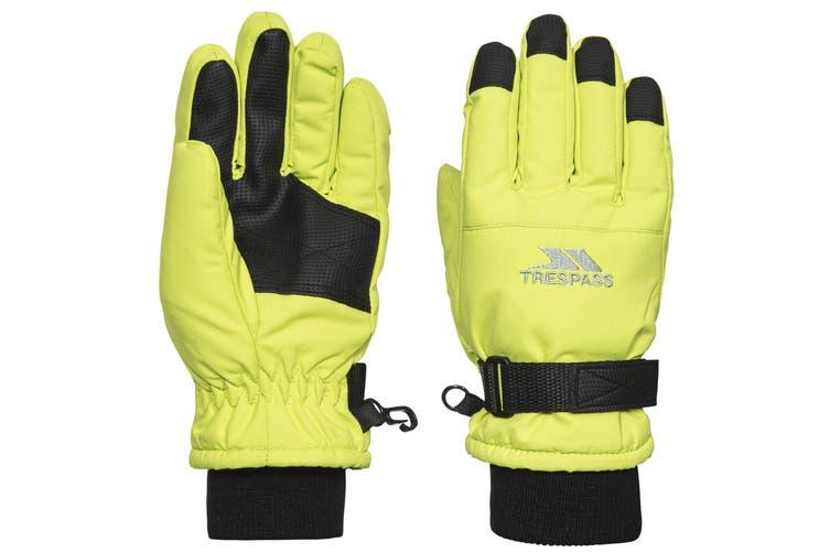 Trespass Childrens/Kids Ruri II Winter Ski Gloves (Kiwi) (5-7 Years)