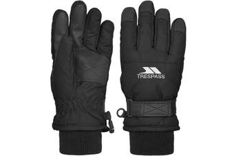Trespass Childrens/Kids Ruri II Winter Ski Gloves (Black) (2-4 Years)