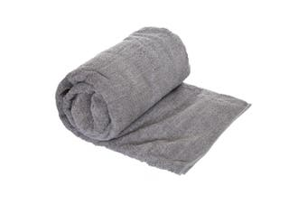 Trespass Transfix Camping Changing Towel (Storm Grey) (One Size)
