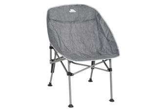 Trespass Kosmos Camping Moon Chair (Grey Marl) (One Size)