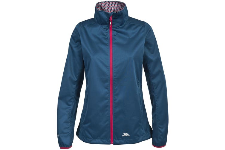 Trespass Womens/Ladies Frieda Waterproof Softshell Jacket (Midnight Blue) (XL)