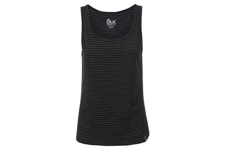 Trespass Womens/Ladies Mariella Active Sleeveless Vest Top (Black Marl) (L)