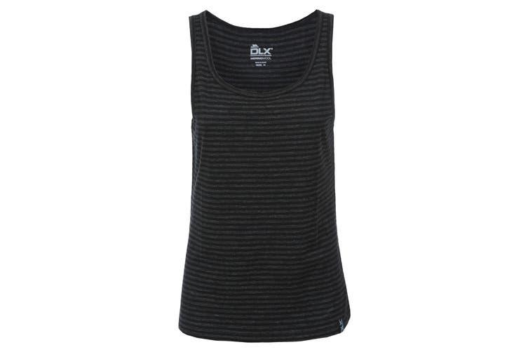 Trespass Womens/Ladies Mariella Active Sleeveless Vest Top (Black Marl) (XL)