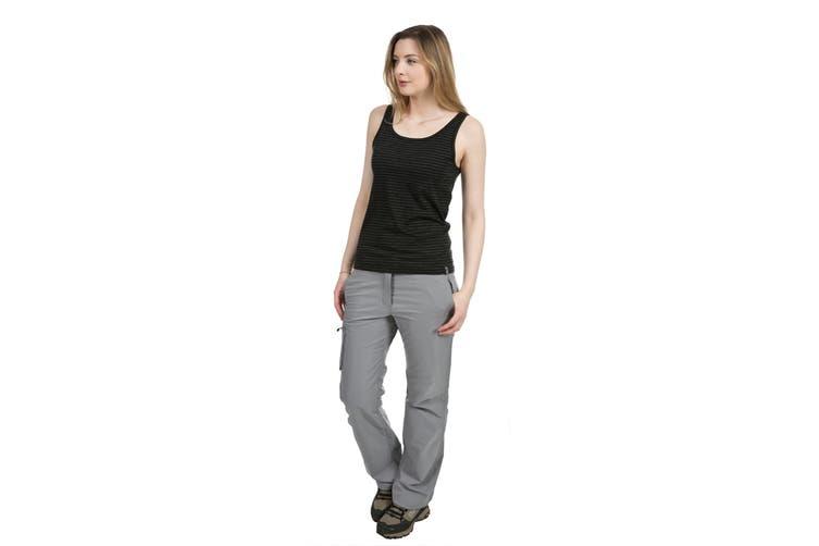 Trespass Womens/Ladies Mariella Active Sleeveless Vest Top (Black Marl) (XXL)