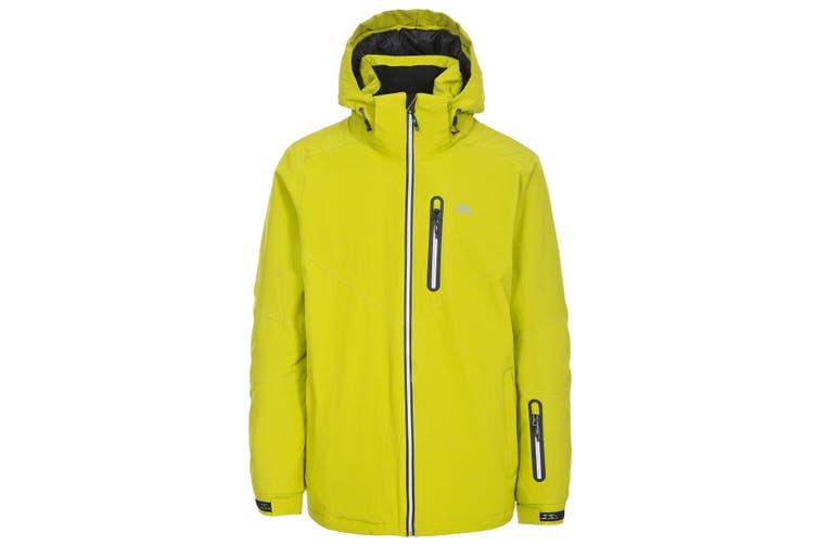 Trespass Mens Duall Waterproof Ski Jacket (Pea Pod) (S)