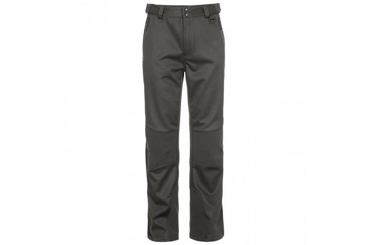 Trespass Mens Holloway Waterproof DLX Trousers (Khaki) (XXL)