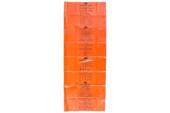 Trespass Radiator High Visibility Bivi Survival Bag (Orange) (One Size)