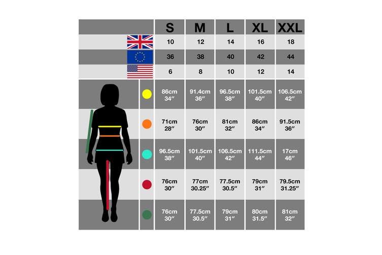 Trespass Womens/Ladies Gita II Waterproof Shell Jacket (Quartz Marl) (S)