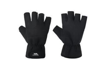 Trespass Adults Unisex Carradale Fingerless Gloves (Black) - UTTP426