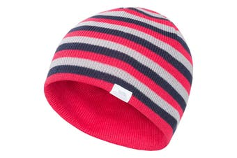 Trespass Childrens/Kids Reagan Beanie Hat (Raspberry) - UTTP4362