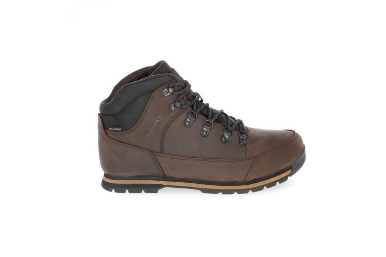 Trespass Mens Jericho Leather Boots (Dark Brown) (10 UK)
