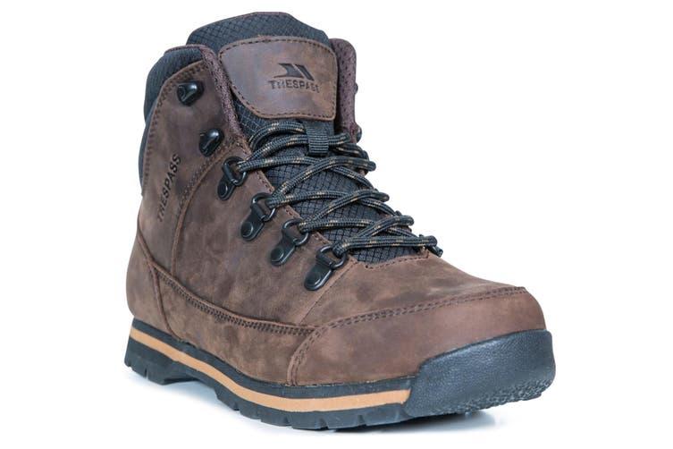 Trespass Mens Jericho Leather Boots (Dark Brown) (11 UK)