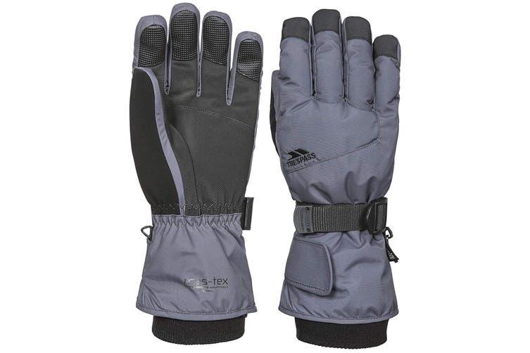 Trespass Childrens/Kids Ergon II Ski Gloves (Carbon) (8/10 Years)