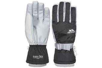 Trespass Womens/Ladies Vizza II Gloves (Black) (L)