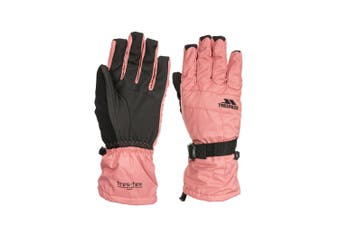 Trespass Womens/Ladies Embray Gloves (Dusty Rose) (L)