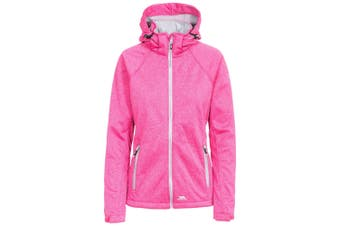 Trespass Womens/Ladies Angela Softshell Jacket (Pink Lady Marl) (XL)