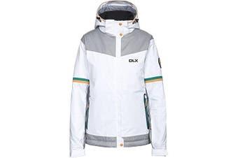 Trespass Womens/Ladies Rosan Ski Jacket (White) (M)