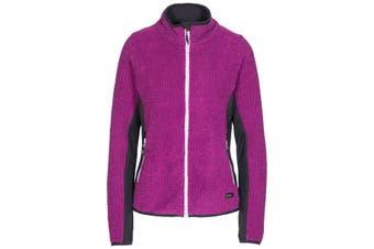 Trespass Womens/Ladies Liggins Fleece Jacket (Purple Orchid) - UTTP4445