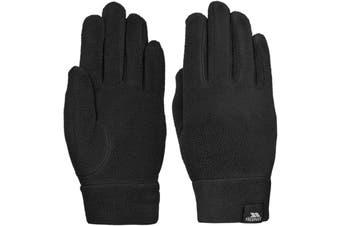 Trespass Womens/Ladies Plummet II Fleece Gloves (Black) (L)