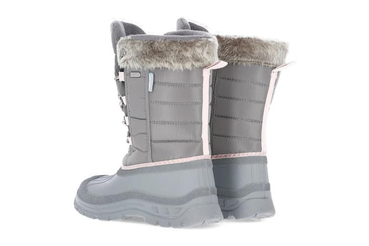 Trespass Womens Stavra II Snow Boots (Storm Grey) (6 UK)