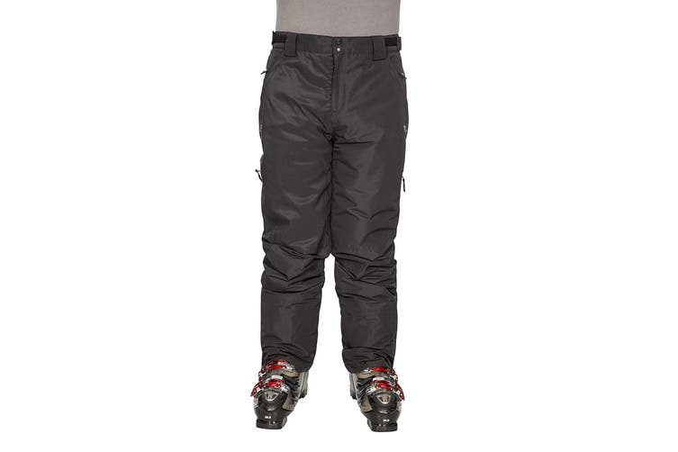 Trespass Mens Roscrea Ski Trousers (Black) (M)