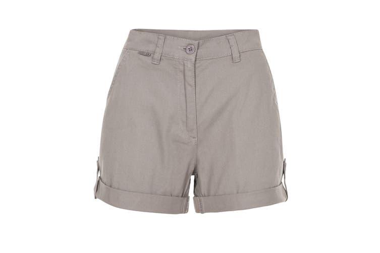 Trespass Womens/Ladies Rectify Adventure Shorts (Storm Grey) (S)