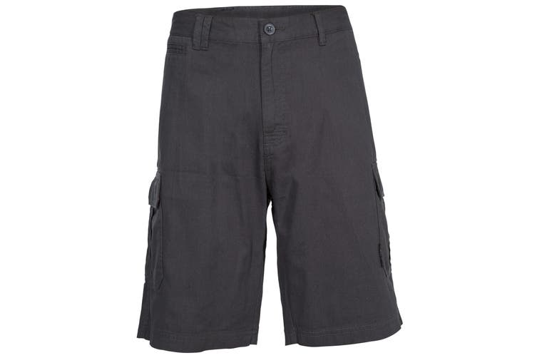 Trespass Mens Rawson Shorts (Navy) (XXS)