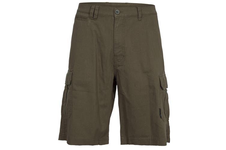 Trespass Mens Rawson Shorts (Olive) (S)