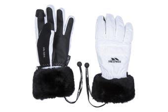 Trespass Womens/Ladies Yanki Gloves (White) (M)