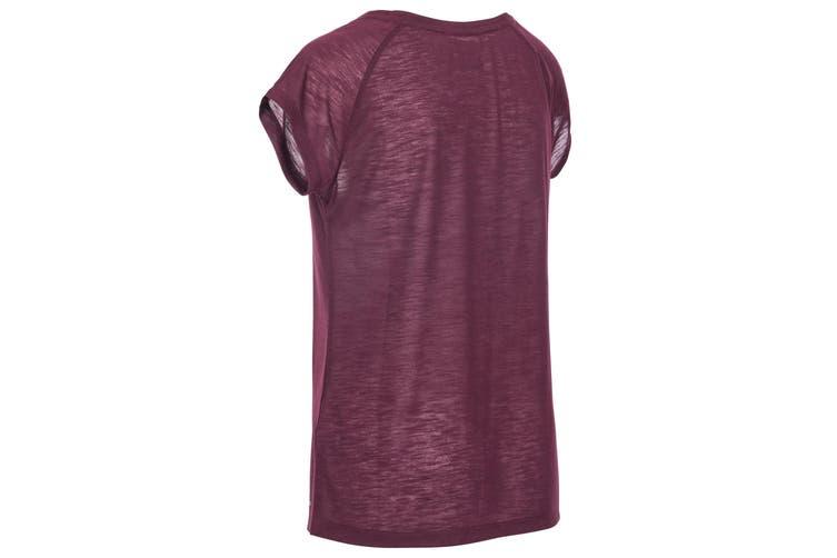 Trespass Womens/Ladies Newby Active T-Shirt (Fig) (XXL)