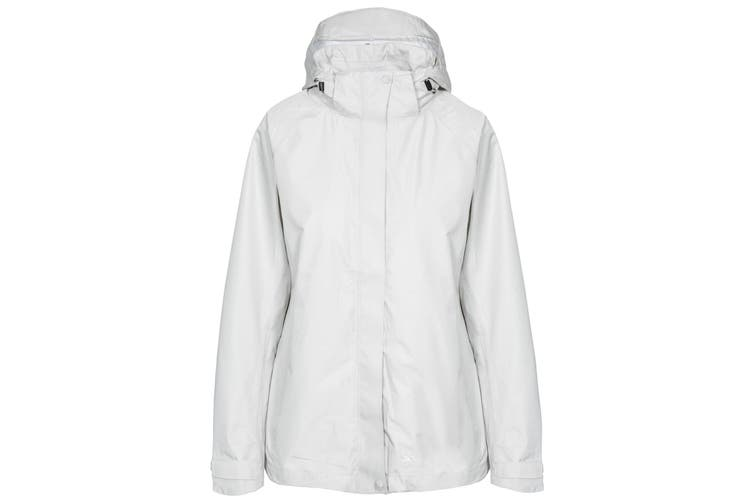 Trespass Womens/Ladies Review Waterproof Jacket (Fawn) (XXS)