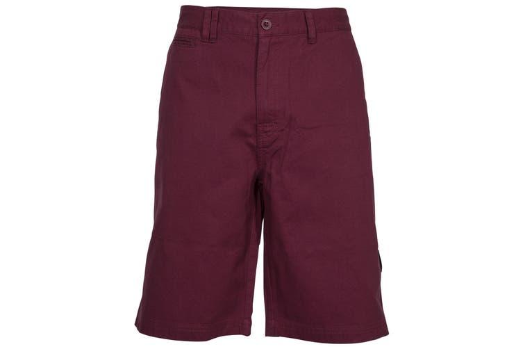 Trespass Mens Leominster Shorts (Prune) (S)